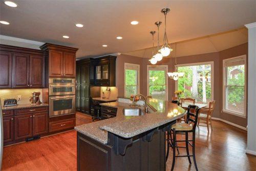 Riverfield homes interior finish