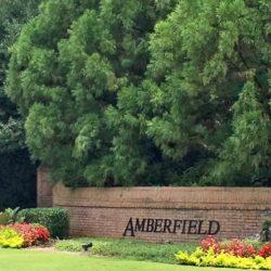 Peachtree Corners Amberfield Entranceway
