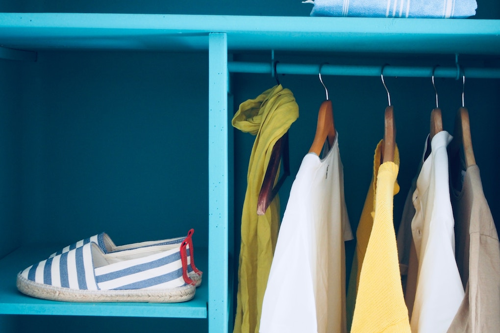 Clutter free closets help to sell homes fast