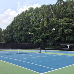 Peachtree Station tennis courts