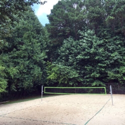 Peachtree Station beach volleyball court