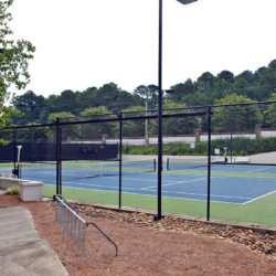 Wellington Lake tennis courts