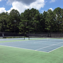 River Station tennis courts